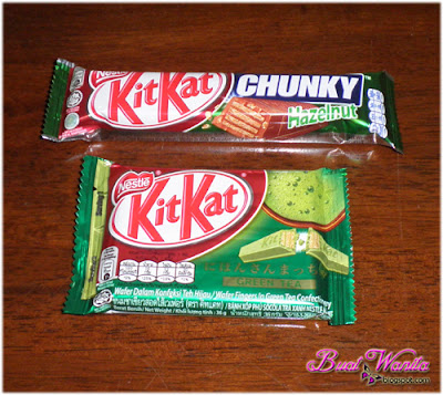 Rasa Coklat KitKat Teh Hijau / Green Tea Sedap Ke?