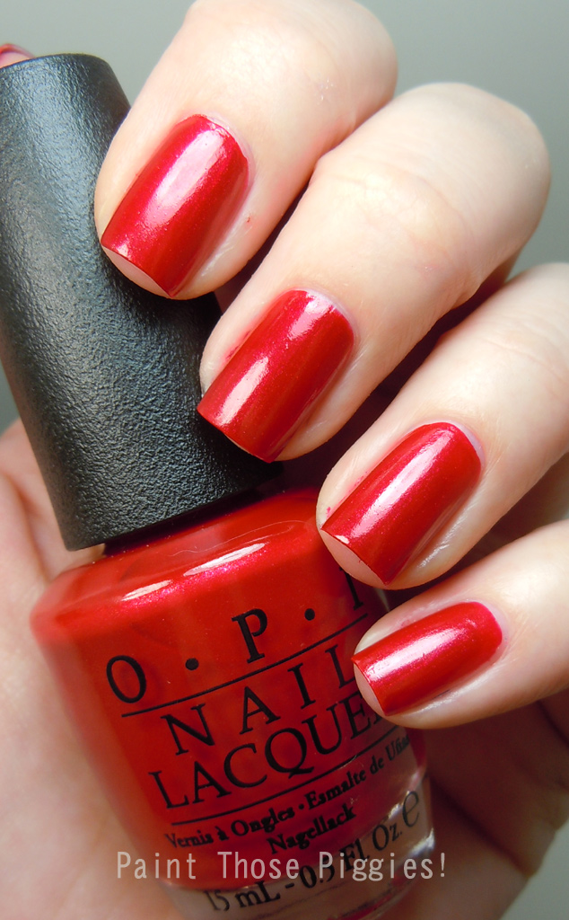 Paint Those Piggies!: OPI Minnie Mouse Collection and Fourth of July ...
