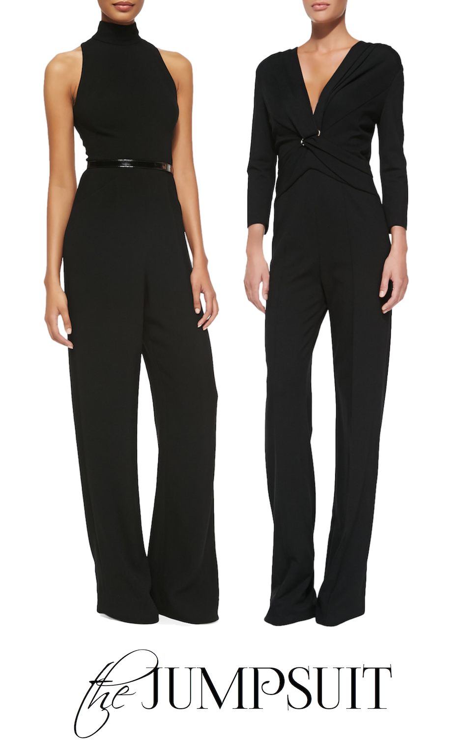 e34f1be1e3e The jumpsuit was a major trend on the runways for the Fall 2014 season.  There is an effortless ease of wearing a jumpsuit....it s one piece
