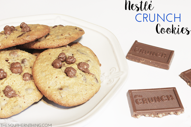 Nestle Crunch Cookies Recipe