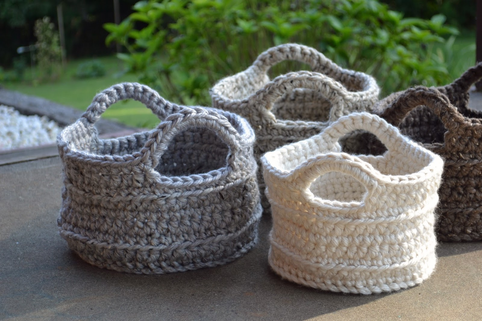 Crocheting Baskets : Crochet in Color: Basket Burnout