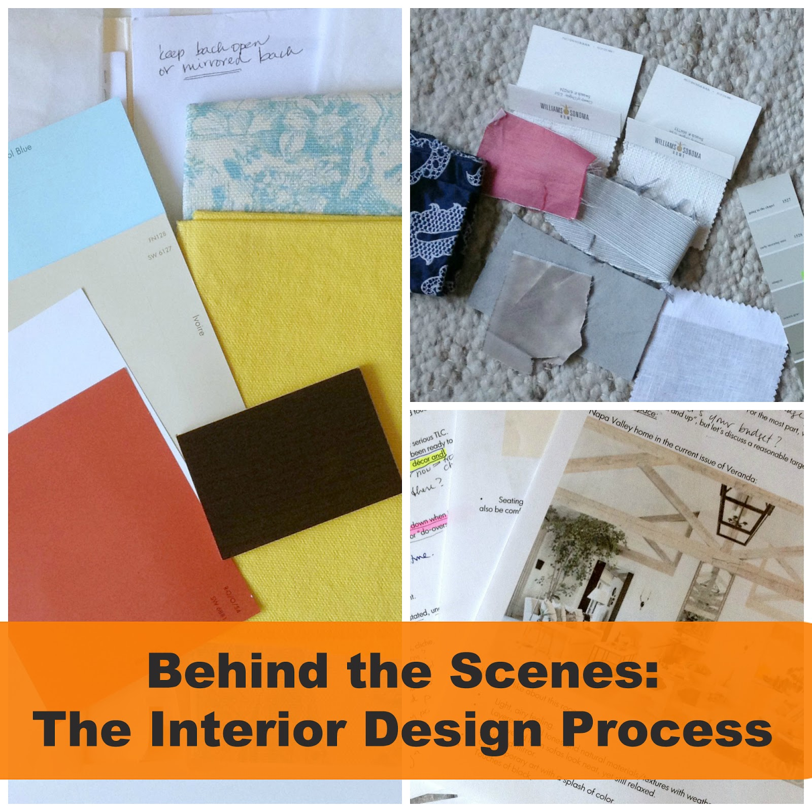 Happy lady decorates september 2013 for Interior design process