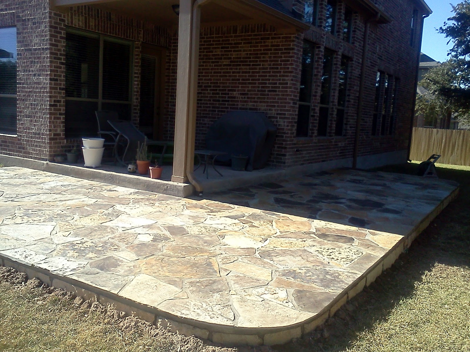 Austin Stone Patio - Home Design Inspiration, Ideas and Pictures