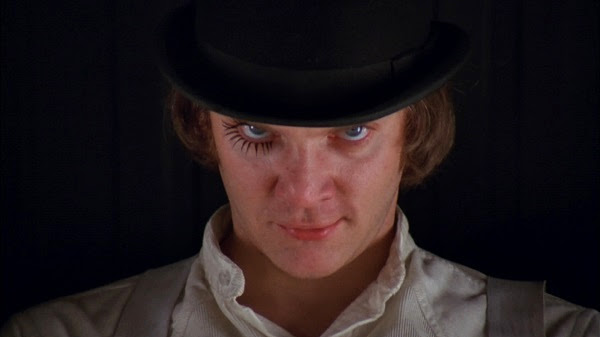 A Clockwork Orange movie eye