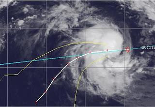 Zyklonsaison Südwest-Indik: Tropischer Zyklon 04S (potenziell BENILDE) bedroht kein Festland, Zyklonsaison Südwest-Indik, Benilde, aktuell, Verlauf, Vorhersage Forecast Prognose, Dezember, 2011, Januar, 2012,