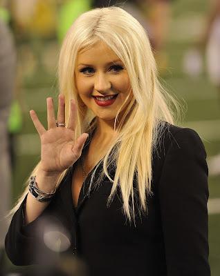 Christina Aguilera's hands.