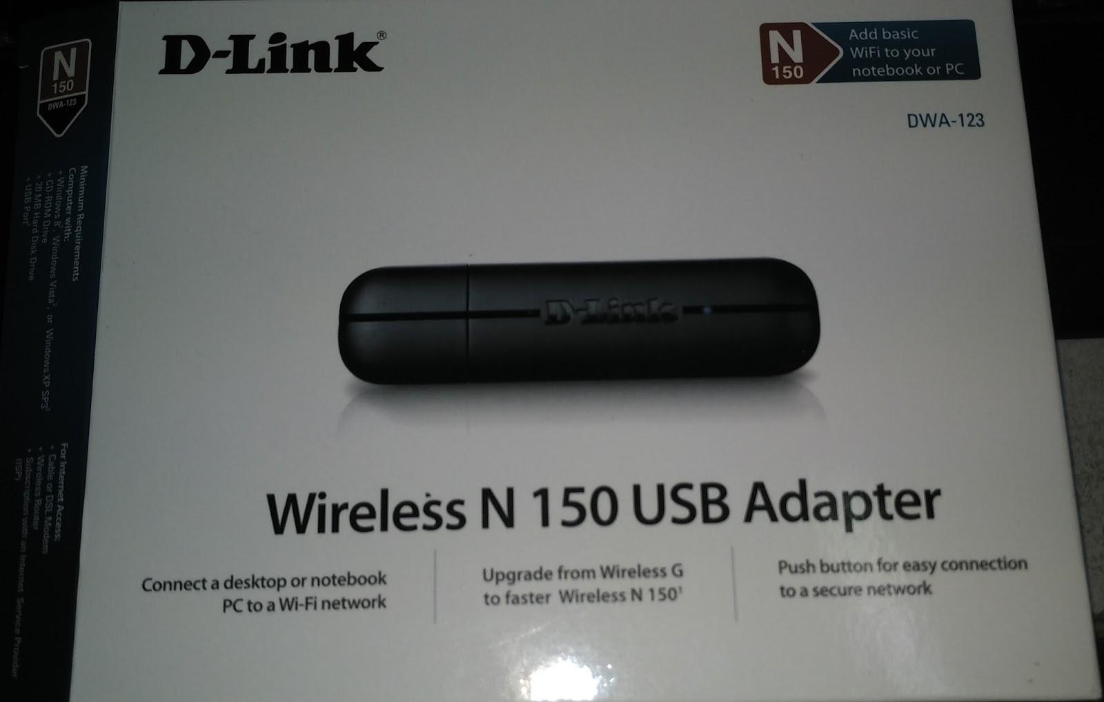 n150 wireless usb adapter setup