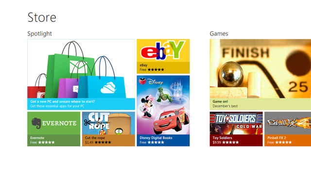 Windows+8+apps+store+screen2 Product Key of Windows 8 to Make it Full Version