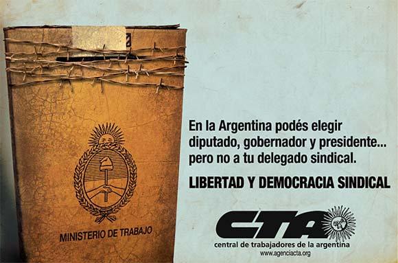 La ONU condena al Estado argentino por violaciones a la libertad sindical