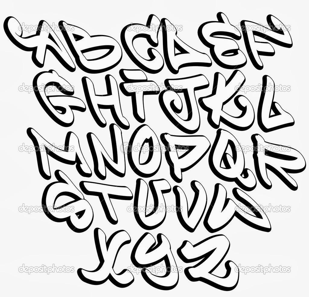 Graffiti es graffiti letters font - Graffiti alphabe ...