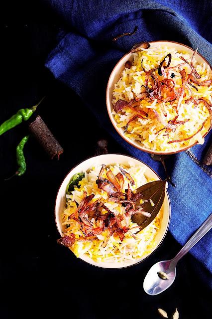saffron pulao recipe in english