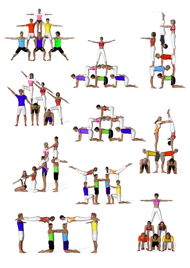 Ejercicios de equilibrio educaci n f sica actual for Definicion de gimnasia