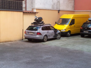Coche de Google en Madrid
