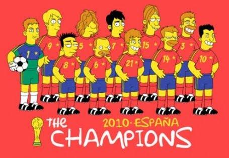 La Roja En Los Simpson Retube Imagenes