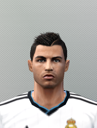Face C  Ronaldo UPDATE By PIPA23   PES 6