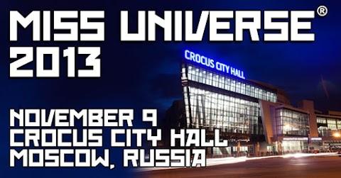 Miss Universe 2013 será en noviembre en Rusia