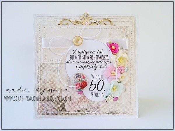 kwiaty na 50.urodziny / flowers for the 50th birthday