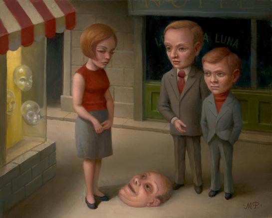 Marion Peck. Surrealismo POP