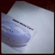 off tajuk sket.baru dapat the BMW White Card. :)