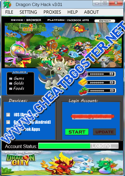 Dragon City Hack 2015 | Free Gems, Golds, and Foods | Dragon City Hack