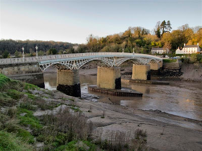 Old Wye Bridge en Chepstow