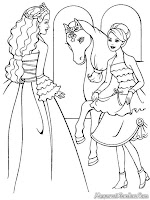 Barbie And The Magical Pegasus Coloring Pages