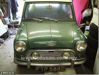 Mini Cooper klasik ditemui