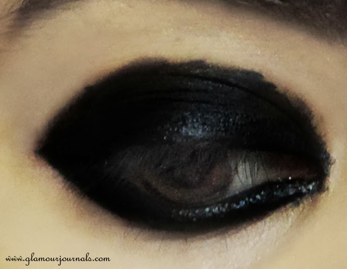 Easy Black Smokey Eye Tutorial And A Trivia About Me Glamour Journals