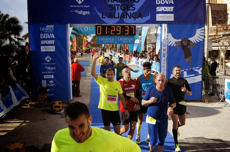 mitja marato sitges 21km fotos