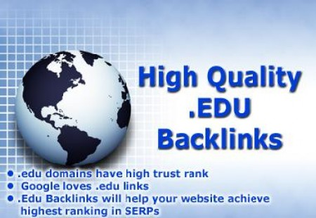 Get Free High PR .edu Site For Backlinks To Increase Your Rank.