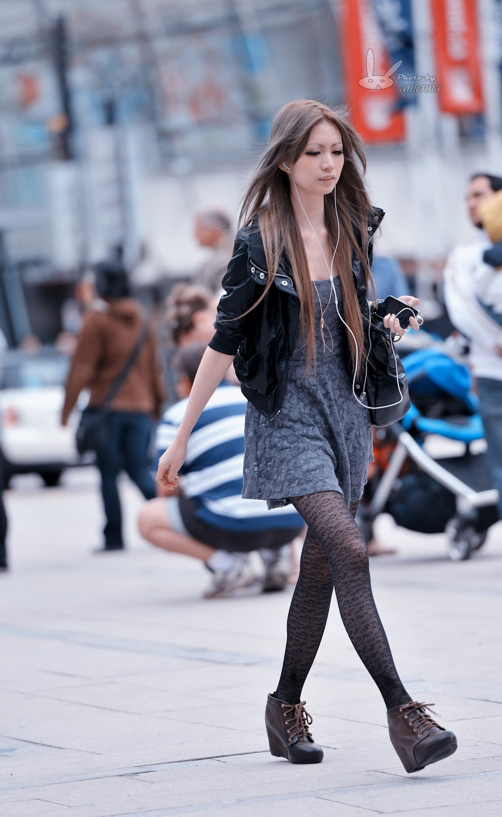 Z 39 S Street Fashion Photography Punk Style Asian Girl