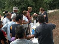 Sucs variats, especialitat de la caminada de Castellterçol