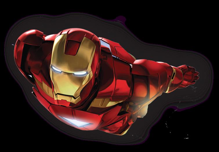 comic cartoons: Iron man