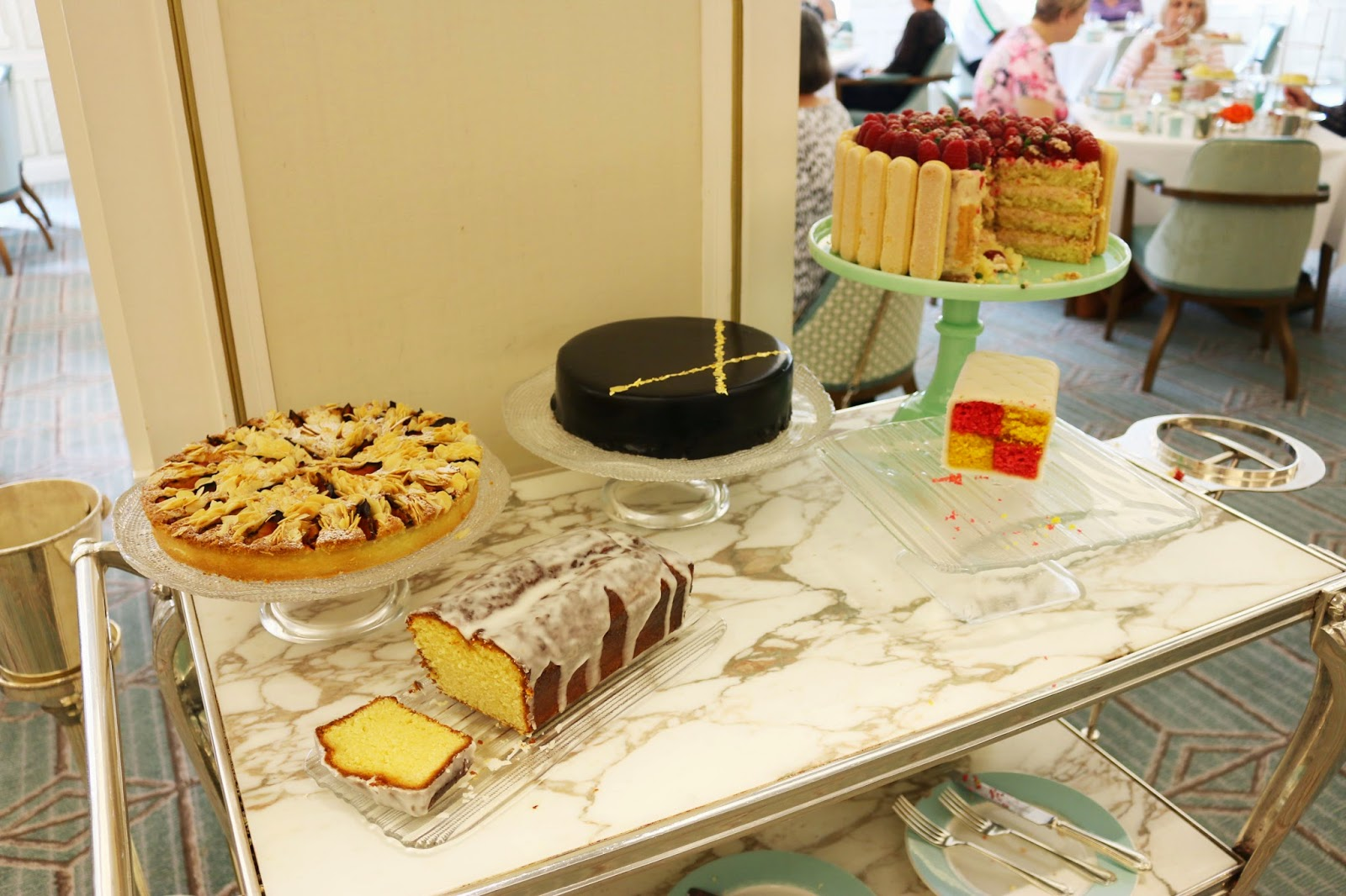 Fortnum & Mason Diamond Jubilee Tea Salon - Dessert Trolley