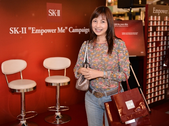 sk-ii empower me campaign luxury haven