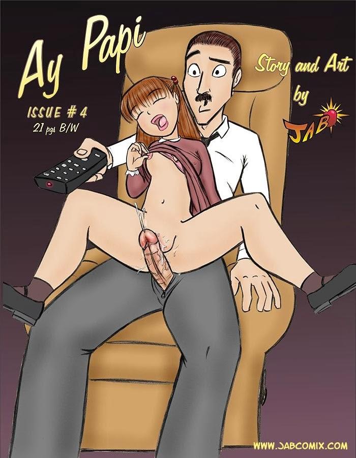 Порно комиксы с дочкой