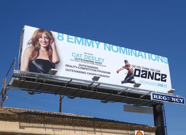So You Think You Can Dance Emmy 2015 billboard