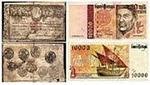 NOTAS de PORTUGAL de 1779 a 1997