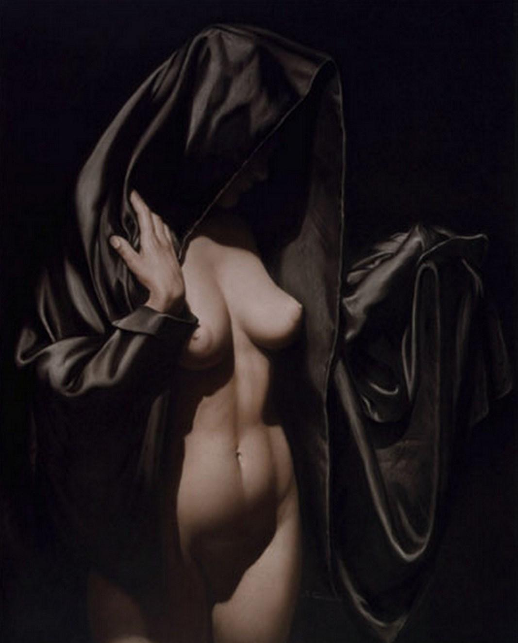 Pintura Art Stica Hiperrealista Cuadrosde Mujeres Desnudas Al Leo