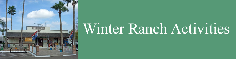 WINTER RANCH ACTIVITIES