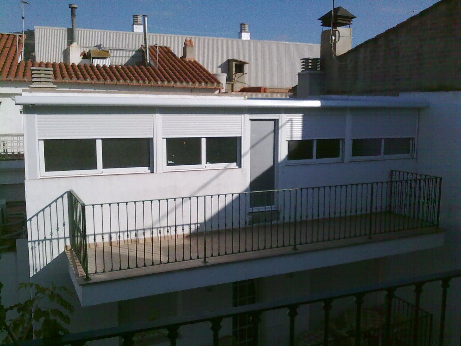 Puertas y venatanas de aluminio en girona cierre - Cierres de aluminio para terrazas ...