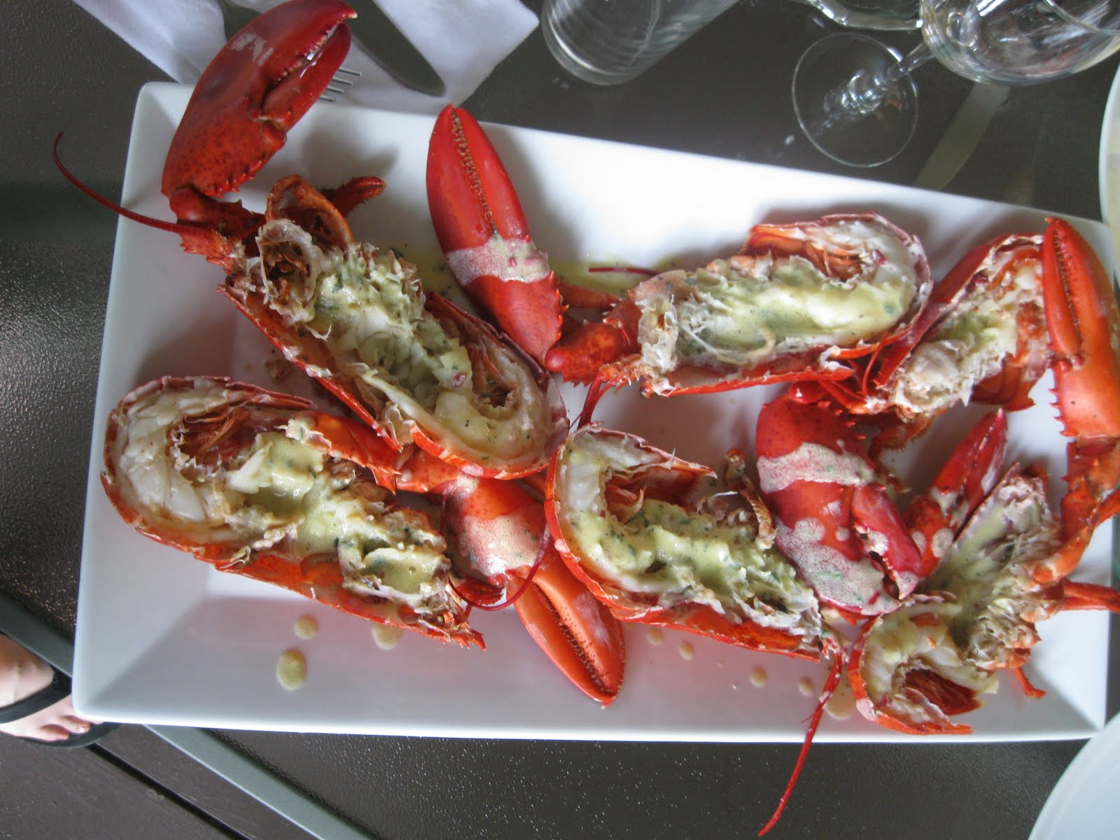 The Gourmet Project: Boiled Lobster with Tarragon Vermouth Sauce (Page ...