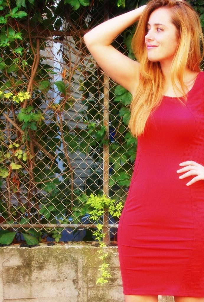 vintage_kirmizi_elbise