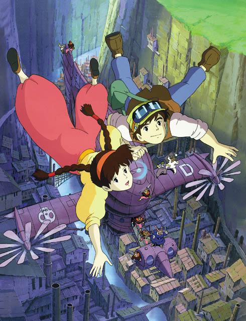 Il castello nel cielo Miyazaki