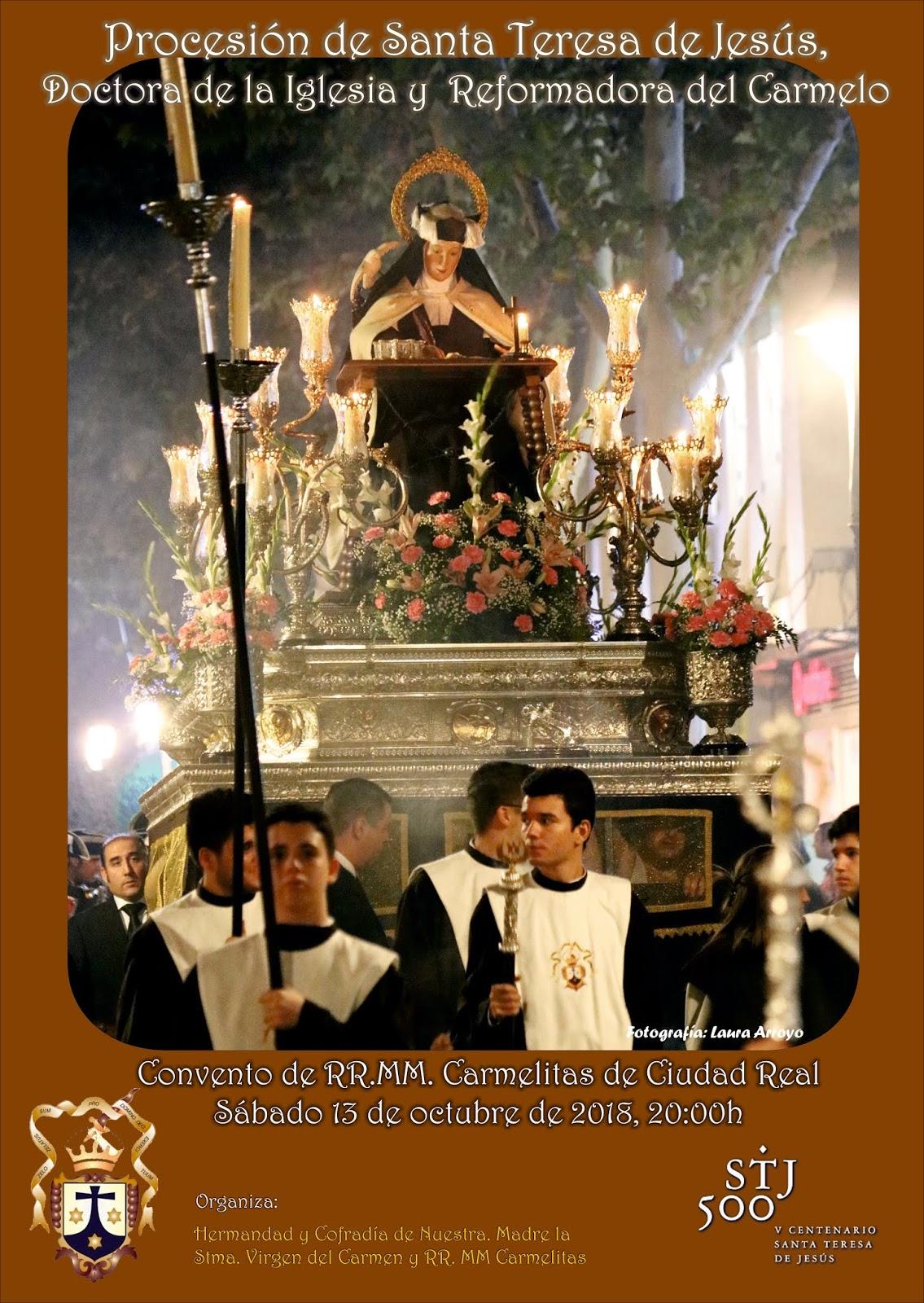Cartel de Santa Teresa de Jesús 2018