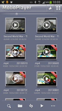 MoBoPlayer-Android Video player apps
