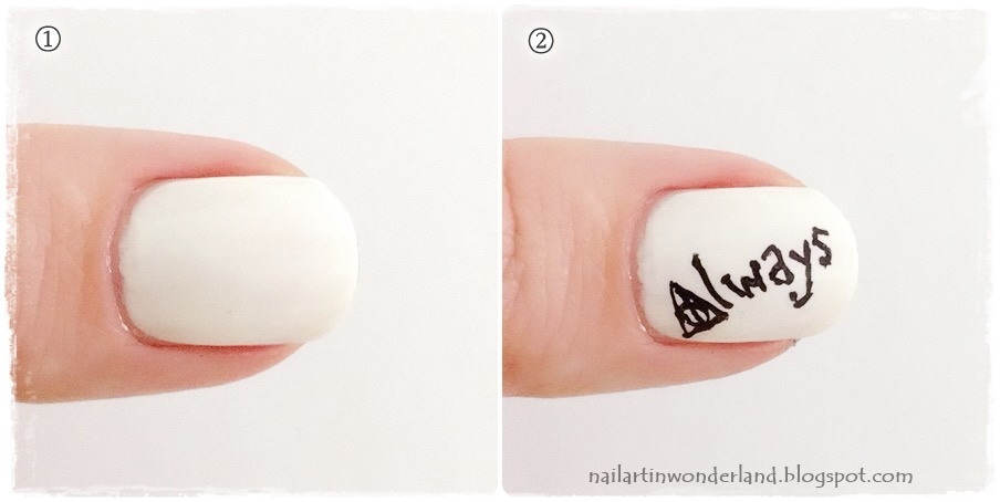 Harry Potter Nail Art - Always
