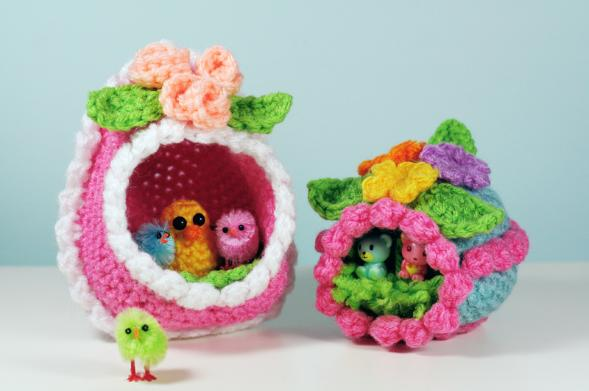 Crochet Patterns Easter : ... Craft, Crochet, Create: 10 Free Easter & Spring Crochet Patterns