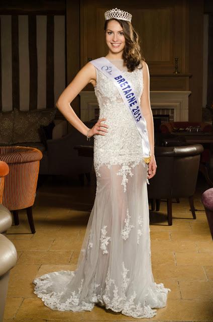 miss bretagne 2015 robe mariée