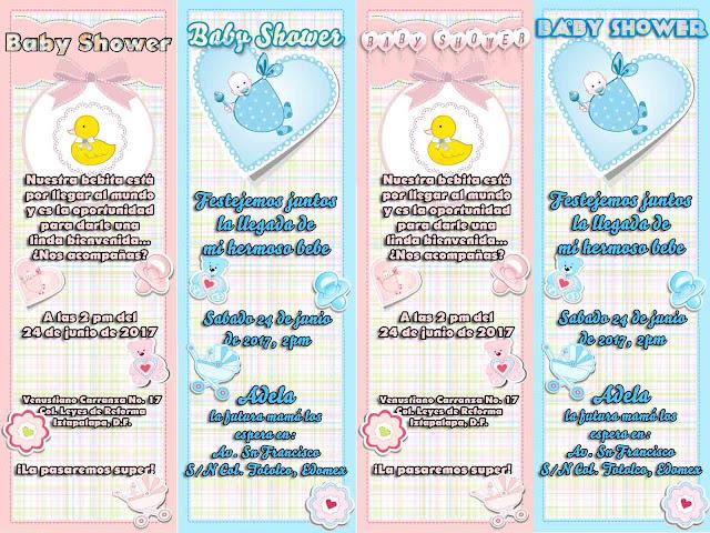 Invitaciones de Baby Shower para tu fiesta!